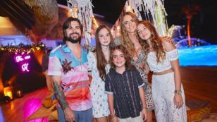 Juanes festejó el cumpleaños de su esposa con una gran fiesta