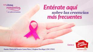 Mitos sobre el cáncer de mama