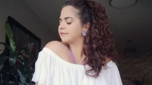 Sandra Muente estuvo en 'Previos en acción' y mira lo que dijo
