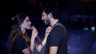 Sebastián Yatra y Tini Stoessel derrochan amor en los ensayos de los Premios Juventud