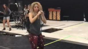 Shakira y el baile que prepara para El Dorado World Tour [VIDEO]