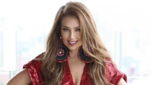 Thalía sorprendió a sus seguidores al mostrar cómo le maquillan esta parte de su cuerpo