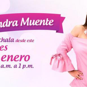¡Sandra Muente será tu cómplice en las mañanas!