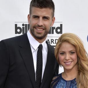 Shakira y Piqué enamoran en las redes sociales