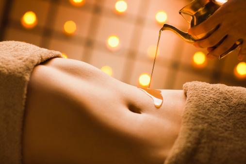 Aceite casero para reducir el abdomen.