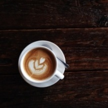 Batido de café con leche.