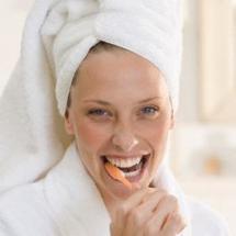 Lavarse los dientes previene un infarto