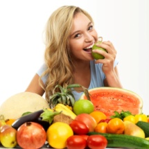 El color de las frutas influye en tu salud.