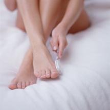 Crema casera para eliminar asperezas de los pies.