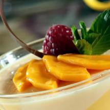 Delicioso cóctel de mango.