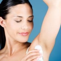 Desodorante natural casero.