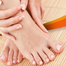 Elimina las asperezas de tus pies.