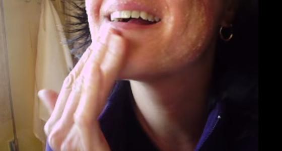 Exfoliante casero para eliminar toxinas del rostro