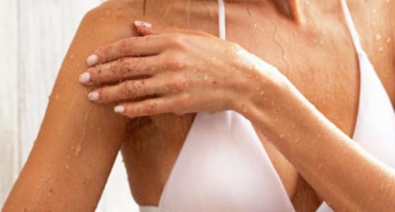 Exfoliante intenso para brazos y piernas suaves