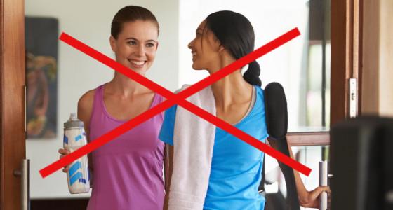 Cosas que no debes hacer antes de ir gimnasio o hacer ejercicio
