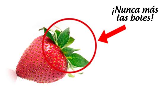 Hojas de fresa para limpiar el hígado y eliminar el estrés