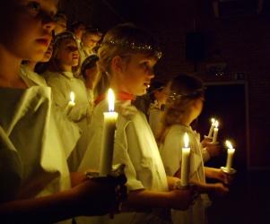 La liturgia de la iglesia.