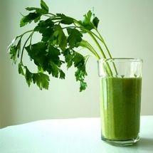 Licuado verde antioxidante.