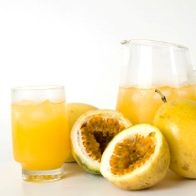 Refrescante limonada de maracuyá.