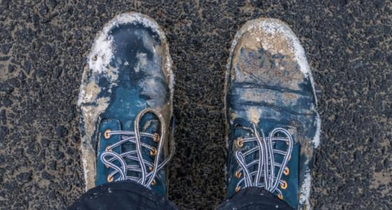 Los zapatos del campesino