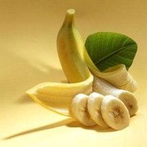 Mascarilla de plátano.