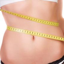 Mascarilla para reducir la grasa abdominal.