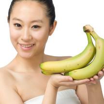 Mascarilla de plátano con efecto botox.