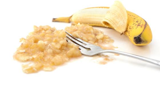 Mascarilla de plátano para cuidar la piel