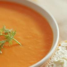 Delicioso y sencillo puré de zanahorias