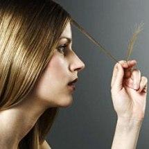 Repara las puntas abiertas de tu cabello.