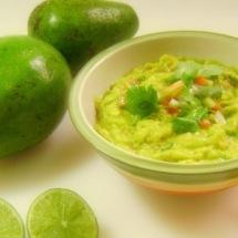 Salsa de guacamole en 2 minutos.