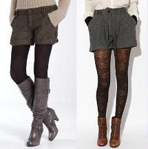 Tips para lucir un short en invierno.