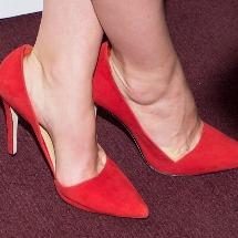 Tips para combinar tus zapatos rojos.