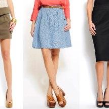Tips para saber qué falda elegir.