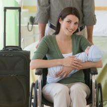 Tips para saber qué llevar en la maleta para la llegada del bebe.