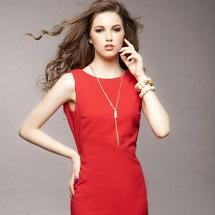 ¿Por qué comprar un vestido rojo?