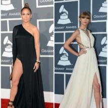Los mejores vestidos de los Premios Grammy 2013