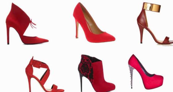 Tips para usar zapatos rojos